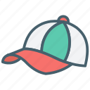 cap, color, ecommerce, hat, shopping, wear icon