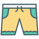color, ecommerce, pants, shorts, underpants, underwear icon