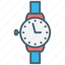 alarm, color, ecommerce, schedule, time, timer, watch icon