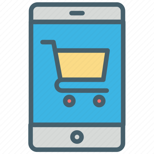 bucket, buy, cart, color, ecommerce, payment, shopping icon