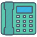 call, chat, color, ecommerce, phone, telephone icon