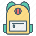 backpack, bag, briefcase, color, ecommerce, luggage, suitcase icon