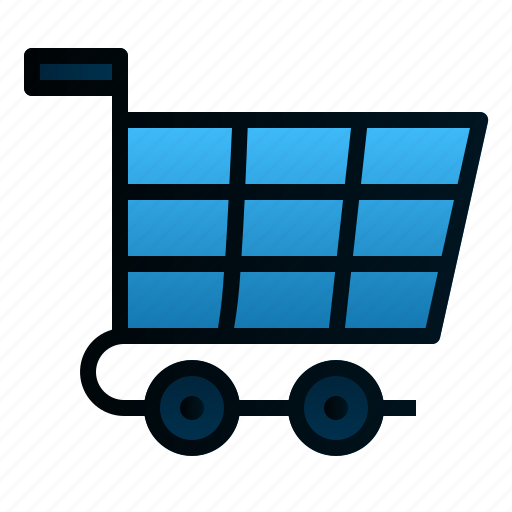 business, cart, ecommerce, finance, market, shopping, trolley icon