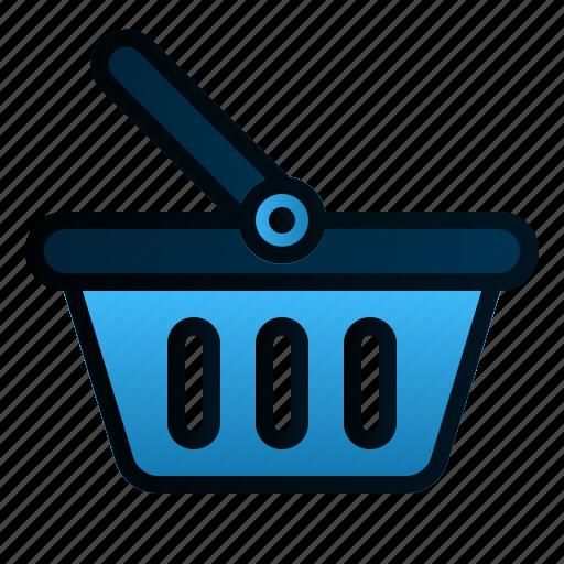 basket, business, ecommerce, finance, market, shopping icon