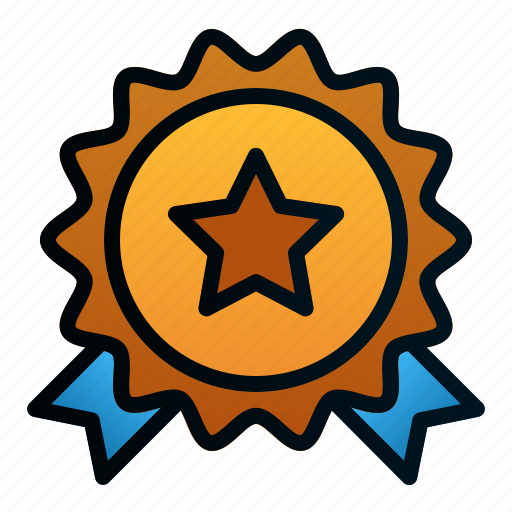business, good, market, medal, recommended, star, store icon