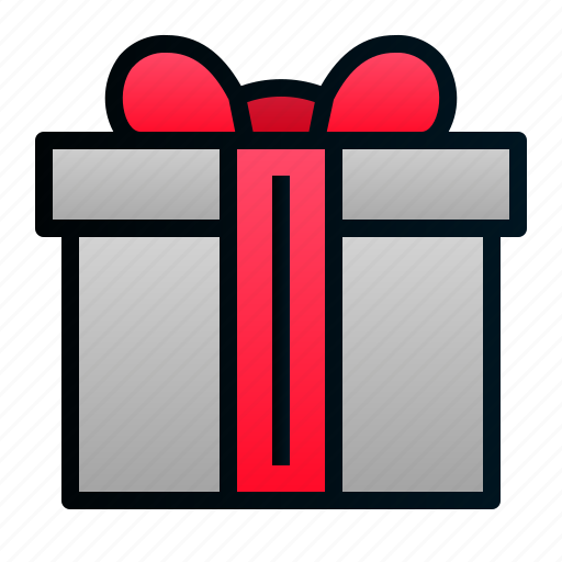 birthday, box, gift, present, shopping icon