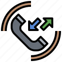 call, conversation, phone, technology, telephone icon