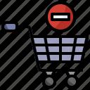 basket, cart, commerce, delete, ecommerce, online, shopping