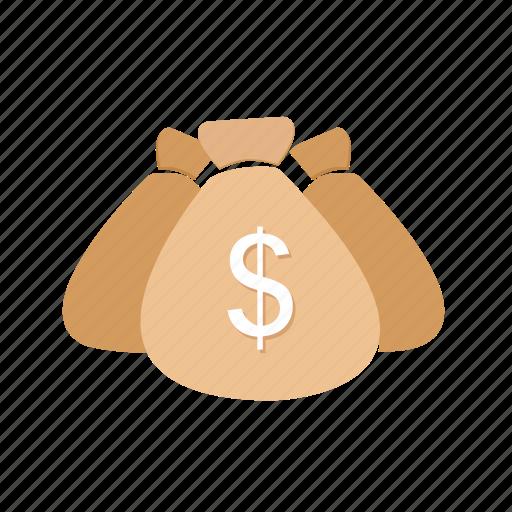 bag, cash, dollar, e-commerce, money, moneybag, sack icon
