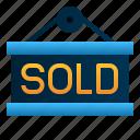 commerce, e, label, shopping, signage, sold