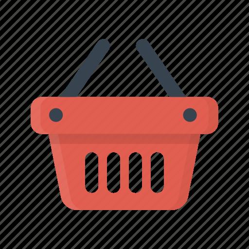 basket, buy, cart, ecommerce, shopping icon