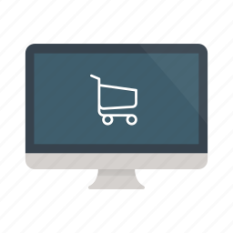 buy, cart, computer, ecommerce, online, shop, shopping icon