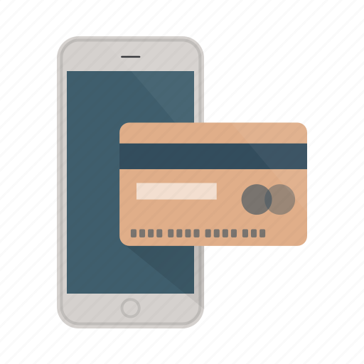 buy, card, credit, ecommerce, pay, phone, shopping icon