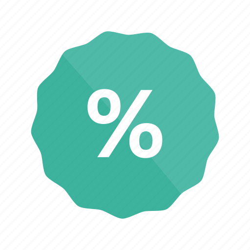 discount, ecommerce, free, percent, shop, shopping icon
