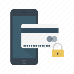 card, credit, money, pay, protected, safe icon