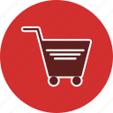 add, buy, cart, retail, shop, supermarket icon