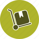 breifcase, retail, shopping, trolley icon