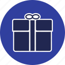 bow, box, gift, giftbox, parcel, present, ribbon icon