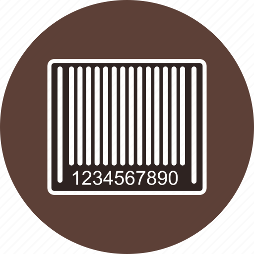 bar, bar code, barcode, product label icon