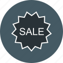 badge, label, sale icon