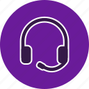 audio, headphones, headset, listen, music, sound icon