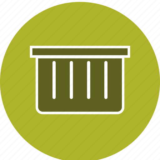 basket, dust bin, e commerce, recyle bin icon
