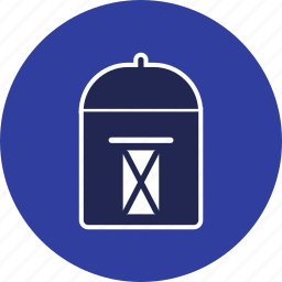 box, letter, mail, mailbox, post, postal, postbox icon