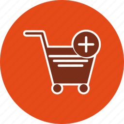 add to cart, cart, trolley icon