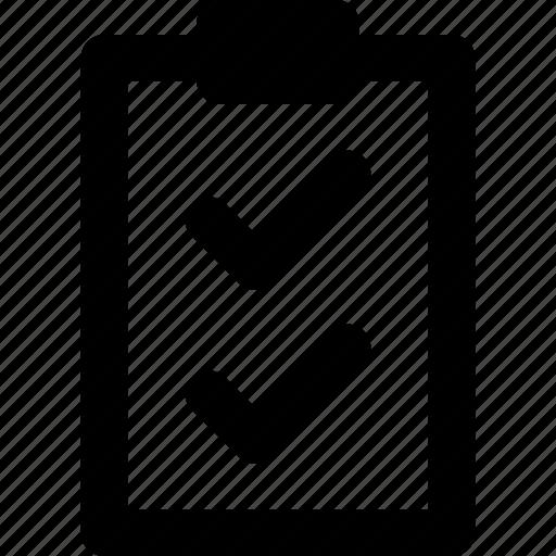 archive, check, document, double, list icon