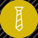 man, neck, tie icon