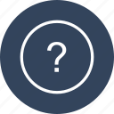 help, info, information, question