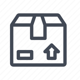 box, deliver, package icon