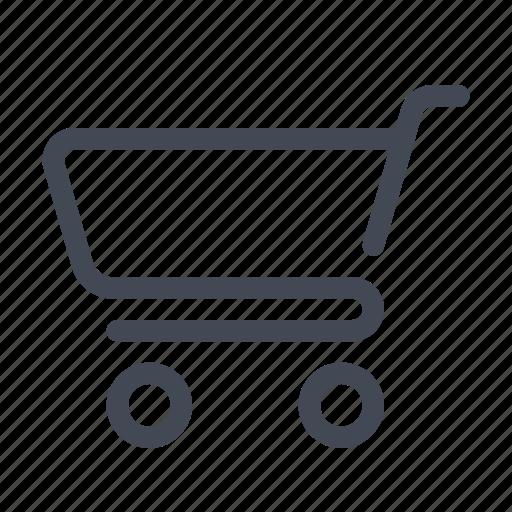 basket, cart, empty shopping cart, shop, shopping icon