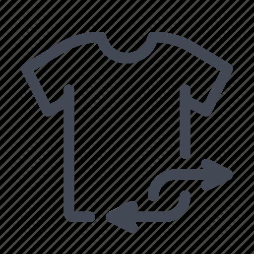 clothes, exchange, shirt, t-shirt icon