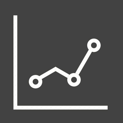 chart, graph, line, presentation, report, statistics, success icon