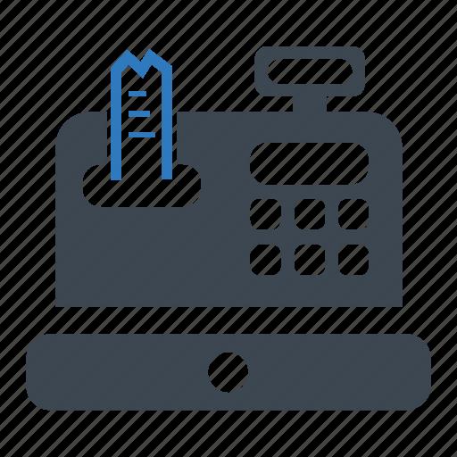 Cash, receipt, register icon - Download on Iconfinder