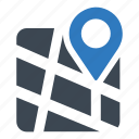 address, location, map icon
