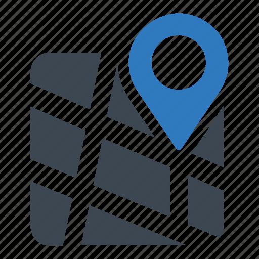 address, location, map icon