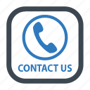 call, contact, contact us icon