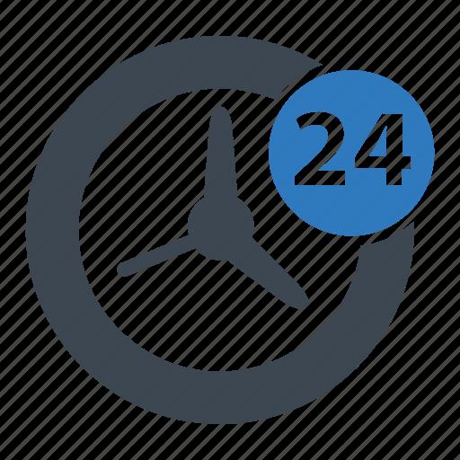 clock, service, time icon