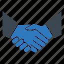 agreed, agreement, deal, handshake, patnership, shake icon