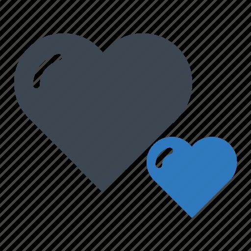 bookmark, favourite, heart icon