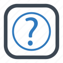 customer service, customer support, faq, help, question icon