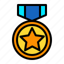 best, commerce, medal, recomend, reward, top icon