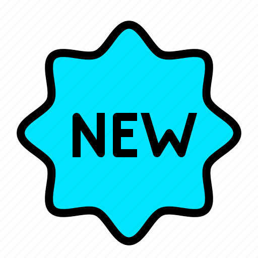arrival, attention, commerce, new, notification, product icon