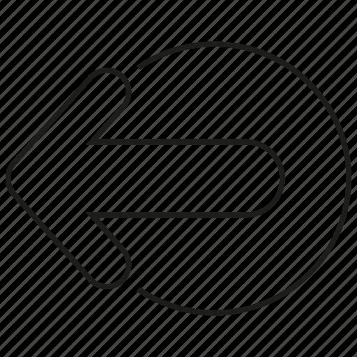 arrow, outbox, output icon