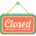 close, closed, closed sign icon