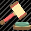 auction, online, gavel, judge, justice, law, online auction