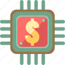 credit, payment, processor icon