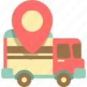delivery, logistics, lorry, shipment, transport, truck icon